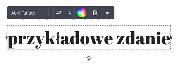 lista polskich czcionek w canva.com